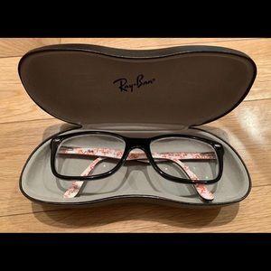 Black Rayband Glasses Frames